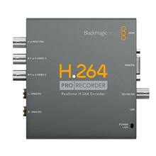 Blackmagic Design H264 Recorders